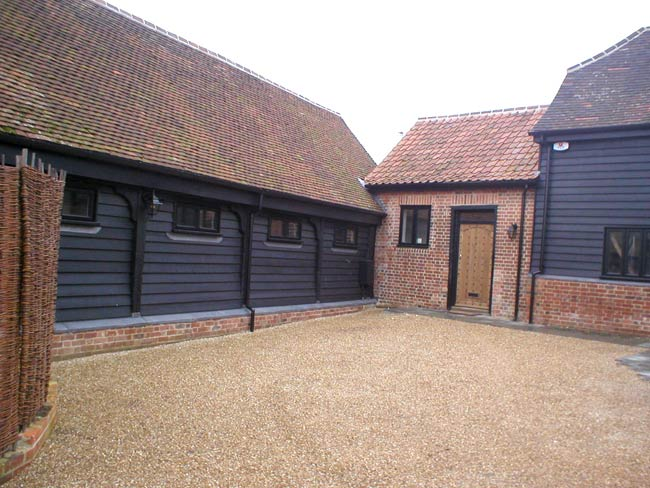 Front Elevation For Three Floor House : New build barn conversions in hertfordshire essex ge